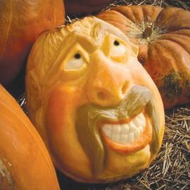 One of pumpkin carver John Bradshaw's many creations.
