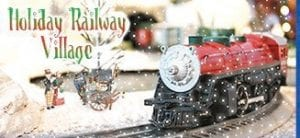 Sloan Museum will launch its Holiday Railway Village display on Saturday for public viewing through the first of the year.