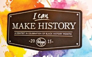 Kroger grocery stores is again sponsoring a Black History Month Scholarship Contest.