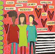 Provided artwork by Julie Abbott