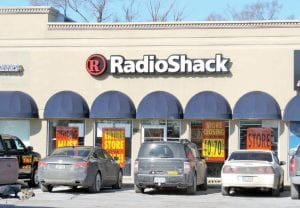 A liquidation sale is underway at the Radio Shack store on Miller Road — one of six in Genesee County being closed under a companywide restructuring process. The store at Genesee Valley Center mall closed about two weeks ago.