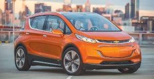 2015 Chevrolet Bolt EV concept.