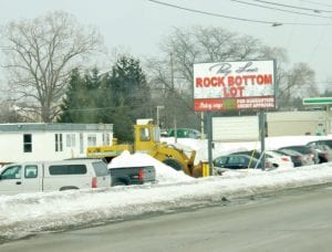 Patsy Lou is opening a Rock Bottom lot on Corunna Road.