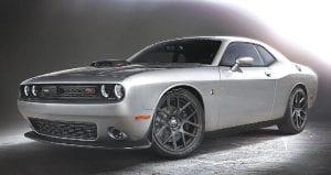 Dodge Challenger 392 HemiScat Pack Shaker