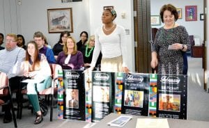 Inventor/engineer Lewis Latimer; poet/author Maya Angelou and cowboy, rodeo champion Bill Pickett were among famous African-Americans featured on 52 Black History Month posters created by Randi Richardson, a CAHS junior. The posters were displayed schoolwide in February and the school board lauded Randi's efforts at its meeting last week.