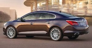 Cars like this 2015 LaCrosse put Buick at the top of the J.D. Power list.