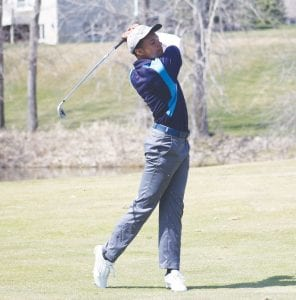 Carman- Ainsworth's Haywood Petty shot 77 to tie for fifth place in last week's Saginaw Valley League jamboree at the Sawmill in Saginaw.