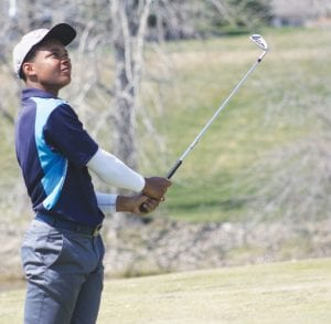 Carman-Ainsworth senior Haywood Petty has come within seven strokes of advancing to the Div. 1 golf regional the last two years. He gets his final chance today.