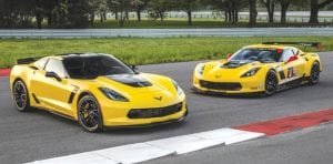 The 2016 'Vette Z06 C7.R Edition pays homage to Corvette's long racing history.