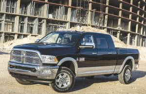The 2016 Ram 2500 boasts segment-leading towing capacity of 17,980 pounds.