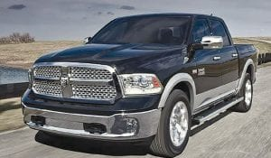 The 2016 Ram 1500 leads pickup truck fuel economy with its available 3.0-liter EcoDiesel V-6 engine.