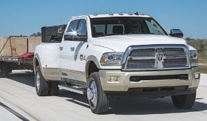 Ram Engineering and Cummins developed new fuel delivery and turbo boost calibration for the 6.7-liter I-6 diesel available in the 2016 Ram 3500 Heavy Duty.
