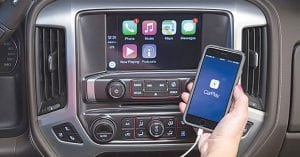 The 2016 Chevy Silverado and GMC Sierra will feature Apple CarPlay and Android Auto technologies,
