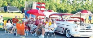 Families and friends gather each year to enjoy the annual West Flint Car Cruise and Family Fun Festival.