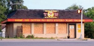 This independent restaurant on Corunna Road is closed after a fire earlier this month.