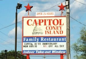 Serving the Flint area for 49 years, Capitol Coney Island, under new ownership since 2005, will be hosting a public 10-year anniversary celebration on Monday.
