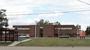 """All Davenport signage has been removed from the 24,927 square-foot office building on Miller Road and a large """"for sale sign"""" posted out front. Davenport had occupied the building since summer 2004, after relocating from Mt. Morris Township."""