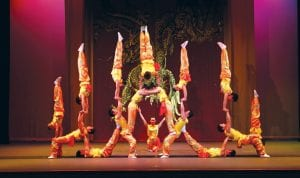 The Peking Acrobats will perform at the Whiting, Feb. 24.