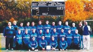 The 2000 Cavaliers soccer team is one of two being inducted into the Carman-Ainsworth Sports Hall of Fame.