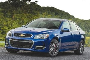 The 2016 Chevrolet SS