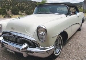 The 1954 Buick Skylark Convertible.