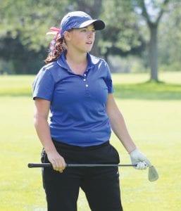 Carman-Ainsworth senior Mikaila Garrison closed her high school golf career with a 101 in last Thursday's regional at Davison Country Club.