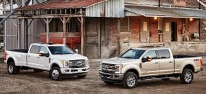 2017 Ford F-350 and F-450 Super Dutys