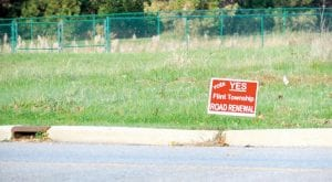 YES! — Township voters agreed to renew a 10-year millage for road maintenance.