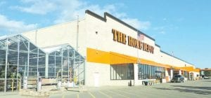 Business appears to have returned to normal at the Home Depot store on Corunna Road, after the store was evacuated last week when a fire was deliberately set inside the store.