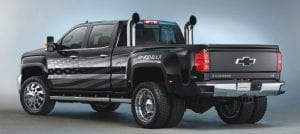"Inspired by his hit song ""Born Free,"" musician Kid Rock collaborated with Chevrolet to design a customized 2016 Silverado 3500HD ""dually"" that celebrates freedom and honors American workers."