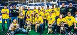 The Waza Flo of Flint with team owner and player Dominic Scicluna, far left, front row, are home Saturday, Nov. 28 against the Milwaukee Wave at 7:05 p.m.