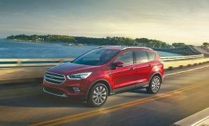 The 2017 Ford Escape Titanium