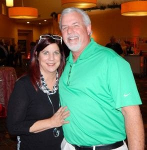 Karen and Ed Marsh of Edible Arrangements were on hand for the party.