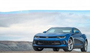 """The all-new Gen Six Chevrolet Camaro is the 2016 Motor Trend Car of the Year. Motor Trend editors praised the Camaro for its lighter weight, which contributes to """"world-class sports car performance and dynamics."""""""