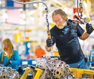 General Motors said Tuesday it will invest more than $356 million in a new engine line in Flint and driveline and powertrain components in Saginaw and Grand Rapids, creating more than 50 jobs and helping to retain nearly 500 positions.