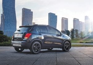 The 2016 Chevrolet Trax Midnight Edition goes on sale in late February.