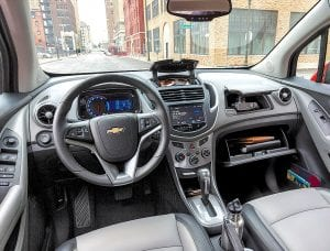2016 Trax Midnight Edition is based on the LTZ trim package and interior.