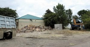 """(fresh photo cutline. get rest from archives) The longtime Corunna Road site of Happy Valley Chinese restaurant and most recently Shrimp """"More seafood diner is now a parking lot. A fire damaged the restaurant in May and it was subsequently torn down."""