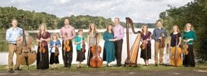 The family photo as featured on the CD cover
