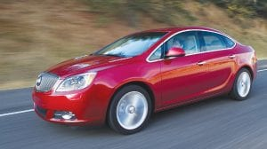 The Buick Verano outperformed every other model as the industry's most dependable vehicle in the J.D. Power 2016 Vehicle Dependability Study.