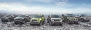 2016 Jeep 75th Anniversary specialedition models