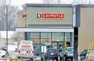 After a brief practice run on Thursday, the long-awaited Chipotle Mexican Grill officially opened last Friday on Miller Road.