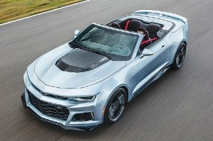 From the fully automatic soft top that seamlessly disappears beneath the hard tonneau cover, to modular underbody bracing to allow the same sharp, nimble handling as the coupe, the Camaro ZL1 Convertible is a high-tech masterpiece.