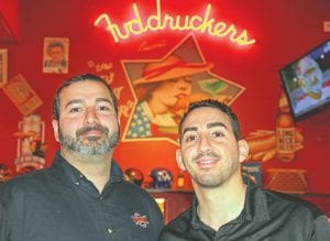 Frank Ammori and Stefan Kalabat have owned Fuddruckers in Flint for the past 16 months and have been steadily adding improvements to the restaurant since taking over. The pair are committed to reestablishing Fuddruckers as a local hotspot for people of all ages.
