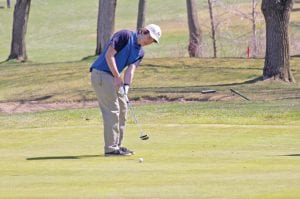 Carman-Ainsworth's Aaron Floyd shot 98 in Monday's Genesee County Invitational at Flint Elks Club.