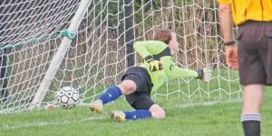 Carman- Ainsworth's Arianna Vantine will be key in net for the young and rebuilding Cavaliers as they enter district play on Tuesday.