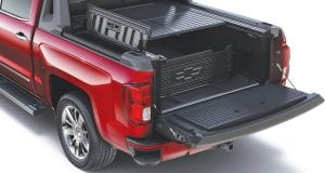 Chevy's Silverado High Desert package boasts an all-new cargo system that is lockable and water resistant.