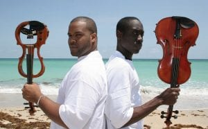 Black Violin featuring Wil Bapitiste and Kev Marcus opens the Whiting's season in November.