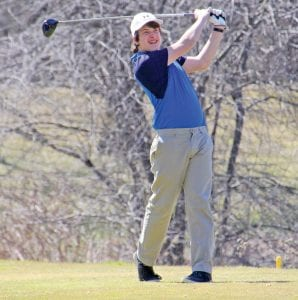 Aaron Floyd shot 85 in last Thursday's district tournament at Grand Traverse Resort.