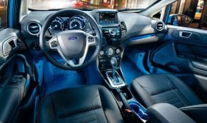 The Ford Fiesta has been named to Kelly Blue Book's Top 10 Coolest New Cars Under $18,000 in six of the last seven years.